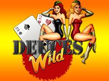Играйте в покер Deuces Wild в казино Вулкан